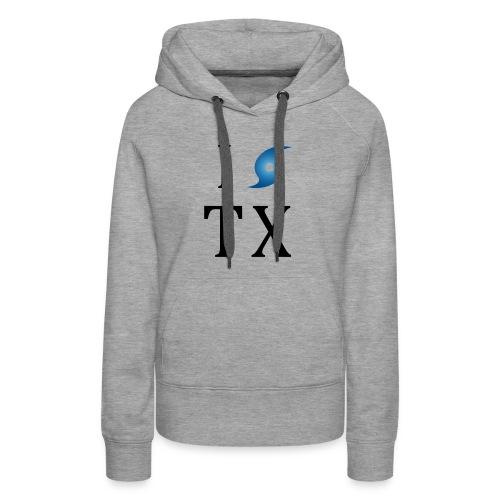 I Hurricane Texas - Women's Premium Hoodie