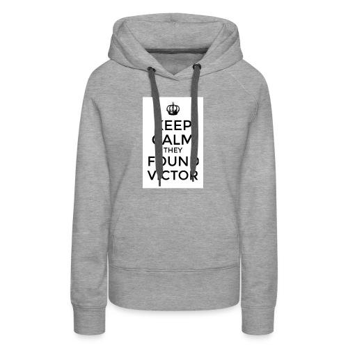Found Victor - T-Shirt - Women's Premium Hoodie