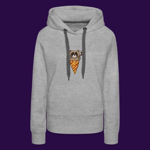Tanuki Ice Cream - Women's Premium Hoodie