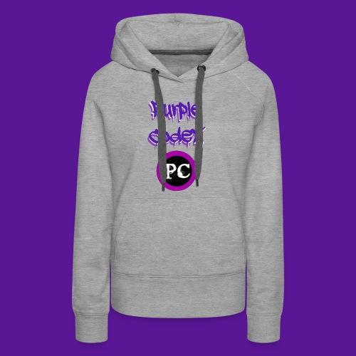 Purple Codex name and logo - Women's Premium Hoodie