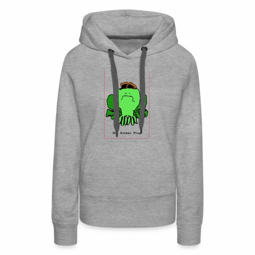 not normal frog - Women's Premium Hoodie