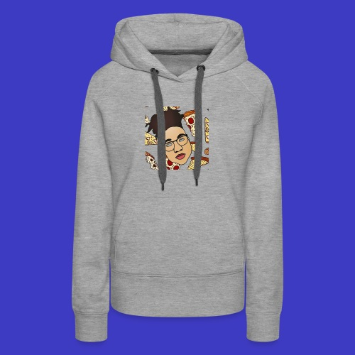 Draco on Pizza - Women's Premium Hoodie