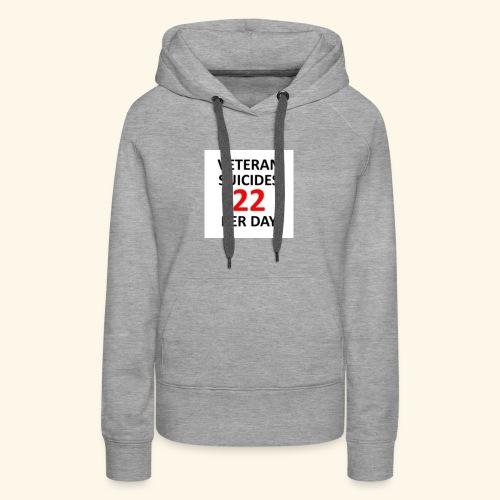 22 per day - Women's Premium Hoodie
