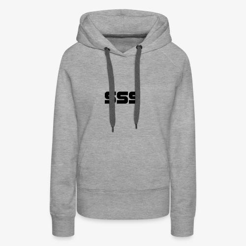 Simple SSS Design - Women's Premium Hoodie
