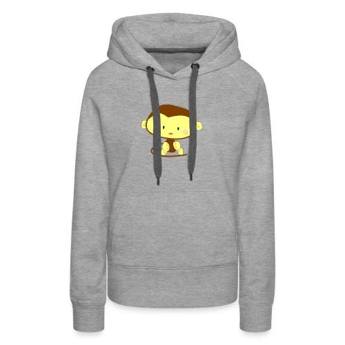 monkey 303612 1280 - Women's Premium Hoodie