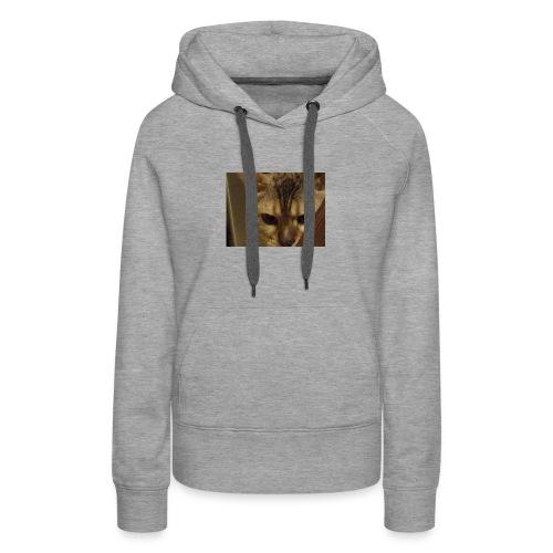 A cat - Women's Premium Hoodie