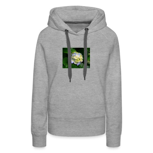 its a flower shirt - Women's Premium Hoodie