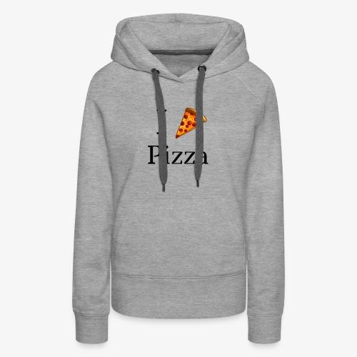 I Heart Pizza - Women's Premium Hoodie