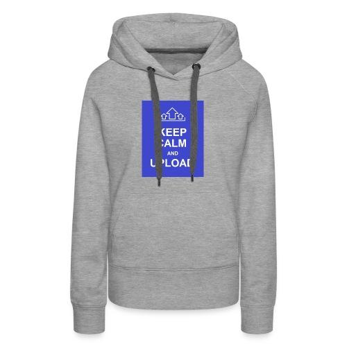 RockoWear Keep Calm - Women's Premium Hoodie