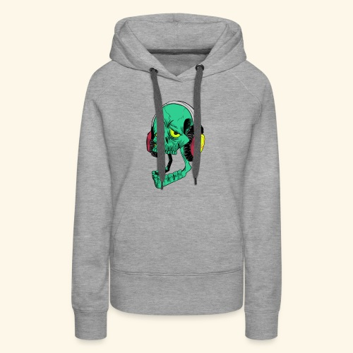 Mr. Green skull - Women's Premium Hoodie