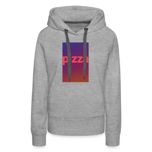 the pizza supreme - Women's Premium Hoodie