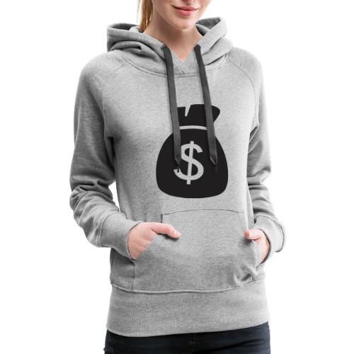 Dollar Sign - Women's Premium Hoodie