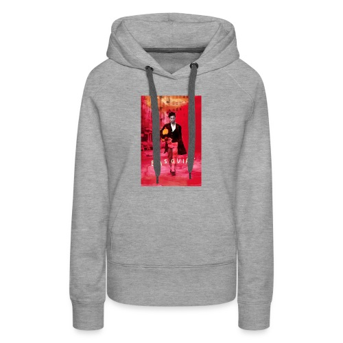 basquiat - Women's Premium Hoodie