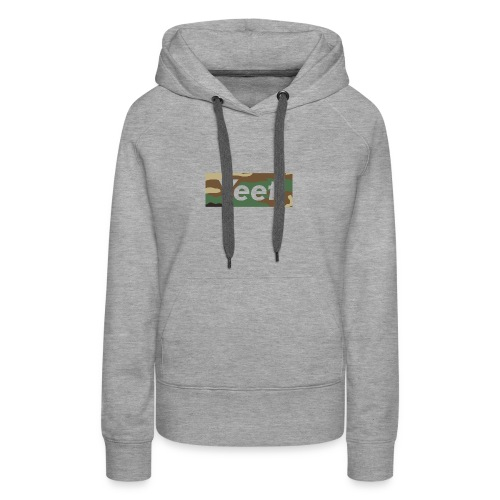 Yeet - Camo - Women's Premium Hoodie