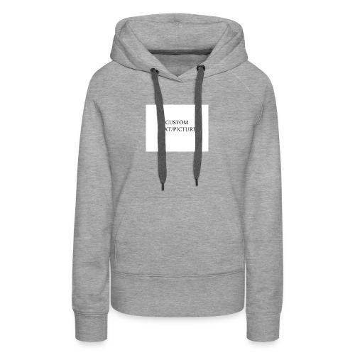 example - Women's Premium Hoodie