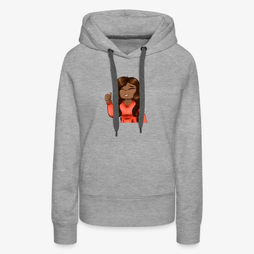 Haliee Thumbs up - Women's Premium Hoodie