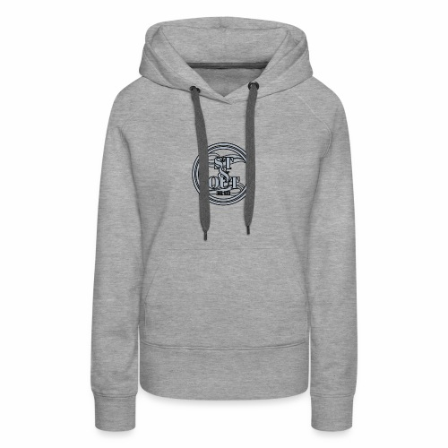 1St OutLogo Silver copy - Women's Premium Hoodie