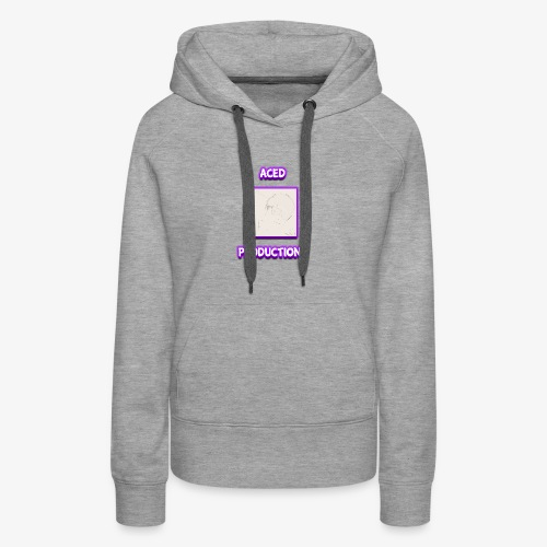 AceD Productions Purple Logo - Women's Premium Hoodie