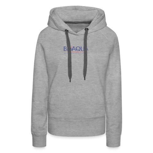 bioaqua no.1 logo - Women's Premium Hoodie