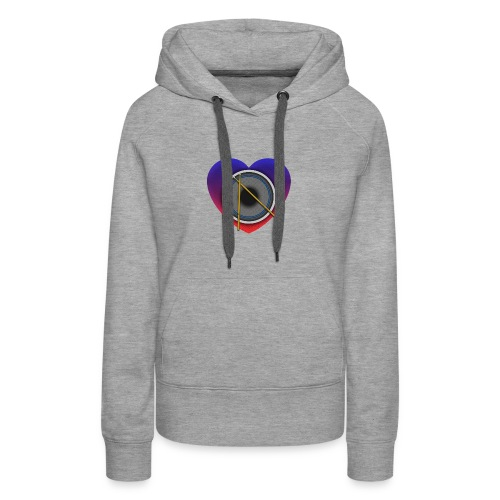 Heart Of Drums Logo - Women's Premium Hoodie