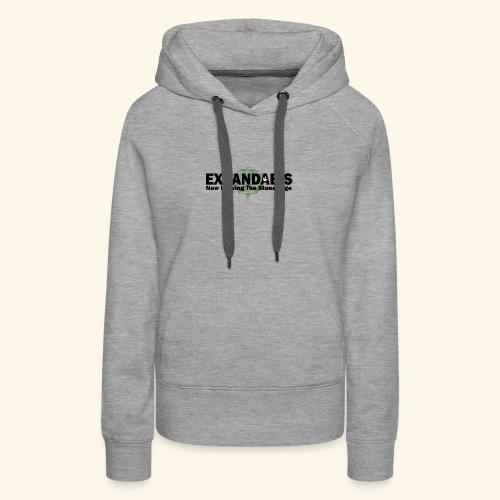 Expandabis Black Logo - Women's Premium Hoodie