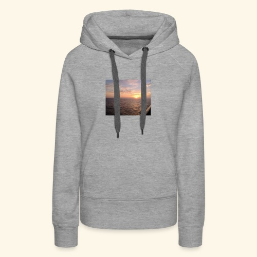 Watching the Sunset! - Women's Premium Hoodie