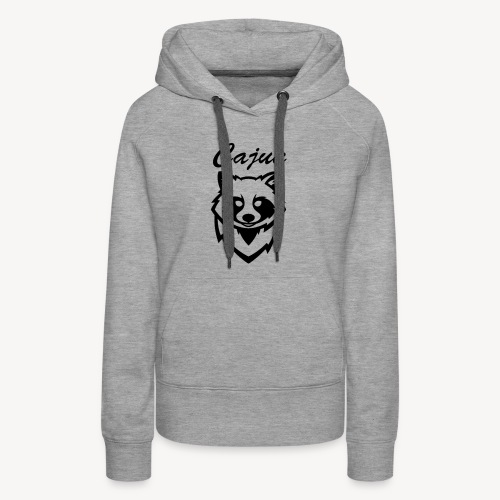 see throw cajun coon icon - Women's Premium Hoodie