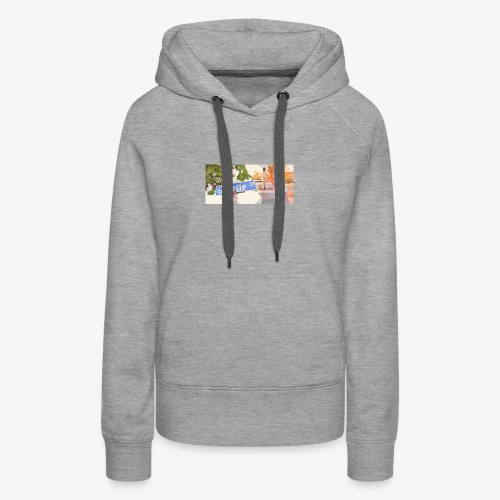 Gillette Street Early Dayz - Women's Premium Hoodie