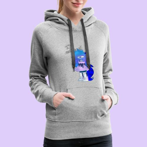 """I'm awkward"" - Skydroid - Women's Premium Hoodie"