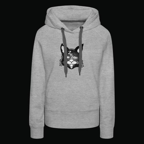 Lunar Cat - Women's Premium Hoodie