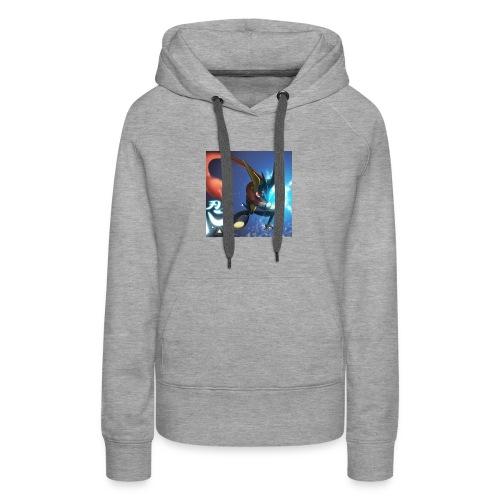 Blue ninja t shirt - Women's Premium Hoodie