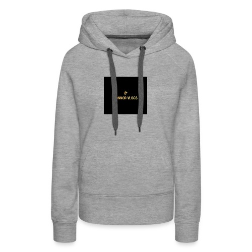Connor Vlogs Logo - Women's Premium Hoodie