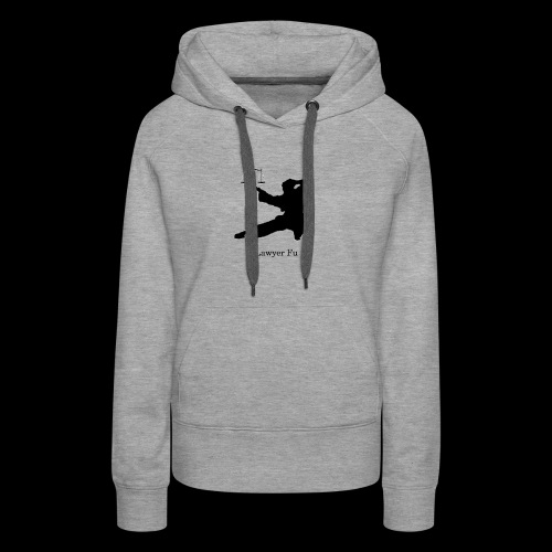 Lawyer Fu Name and Logo - Women's Premium Hoodie