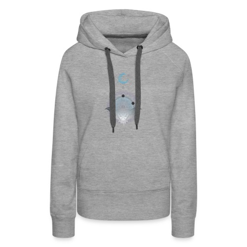 Manta Magic - Women's Premium Hoodie