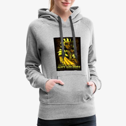 Egypt God Anubis Logo - Women's Premium Hoodie