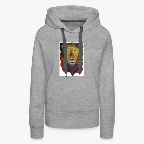 Rainbow Lion - Women's Premium Hoodie