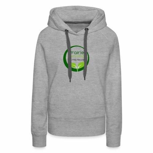 Prairie Recycling Official Logo - Women's Premium Hoodie
