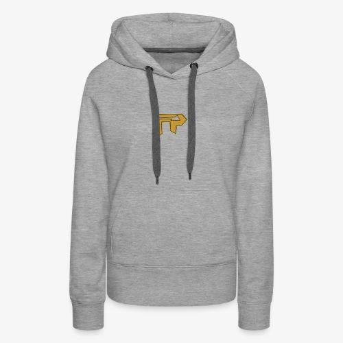 black/gold logo to side - Women's Premium Hoodie