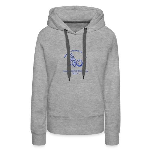 Original Member JudyBlue Tribe 2017 (blue logo) - Women's Premium Hoodie