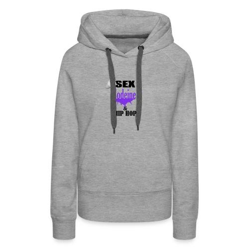 sex codeine hip hop - Women's Premium Hoodie
