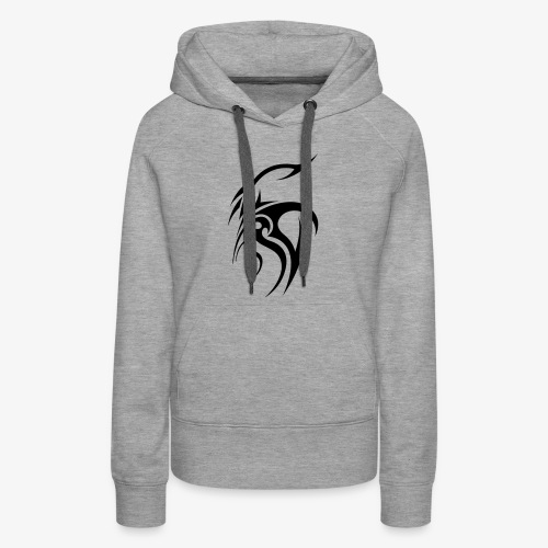 Cool tribal tattoo design - Women's Premium Hoodie