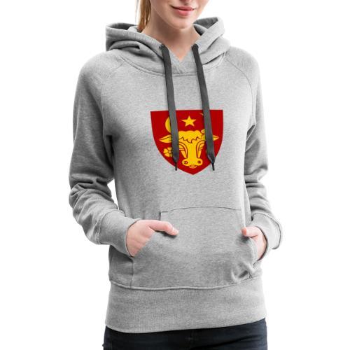 Coat of arms of Moldavia svg - Women's Premium Hoodie