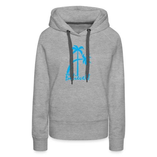 BelieveN blue - Women's Premium Hoodie