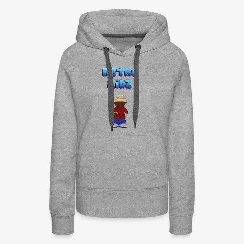 New Retro Kidz Back - Women's Premium Hoodie