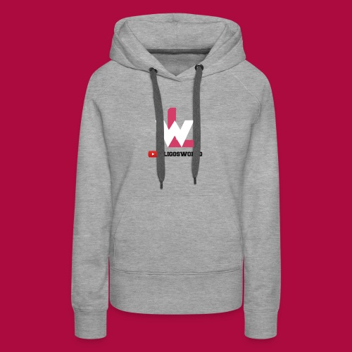 Logo on Grey Sport - Women's Premium Hoodie