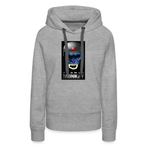 ESTAMPA PLANET MONKEY - Women's Premium Hoodie