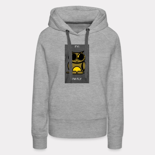 Fly Owl - Women's Premium Hoodie