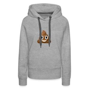 Poo E-moji - Women's Premium Hoodie