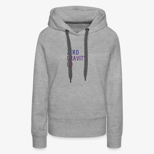 Zero Gravity Colorful Logo - Women's Premium Hoodie