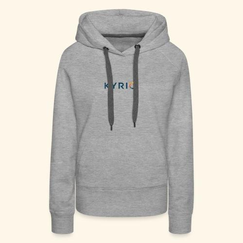 Kyrio cmyk main - Women's Premium Hoodie